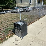 Residential Trash out Illegally at 385 Savin Hill Ave, Dorchester