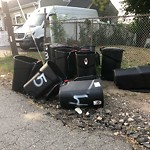 Residential Trash out Illegally at 61 Waldemar Ave, East Boston