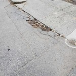 Pothole at Intersection Of Seager Ct & Faneuil St, Brighton