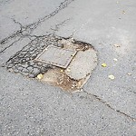 Pothole at Intersection Of Goodenough St & Faneuil St, Brighton
