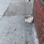 Litter at 131 W Broadway, South Boston