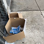 Litter at 260 W Broadway, South Boston