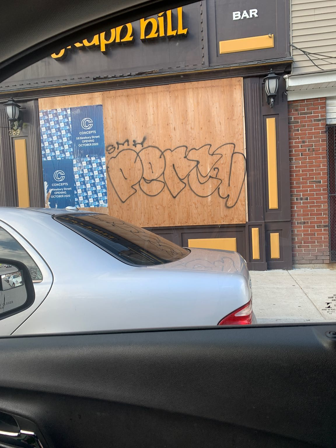 Illegal Graffiti