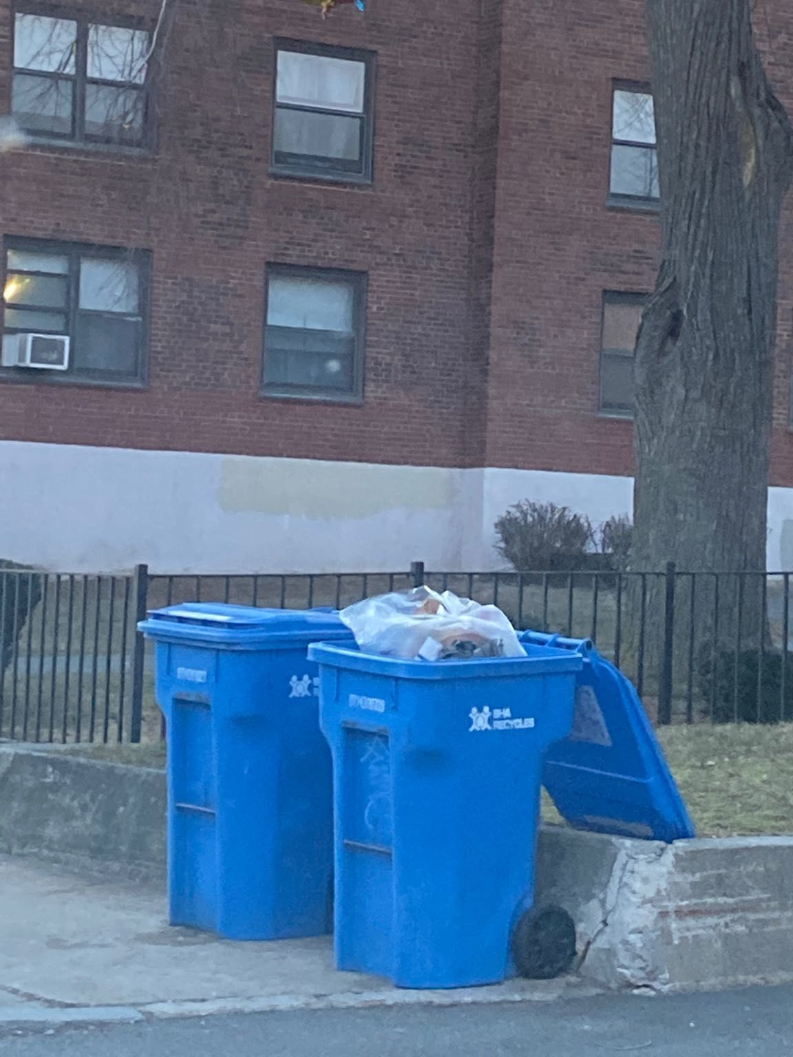 Residential Trash out Illegally