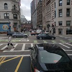 Traffic Signal at Intersection Of Boylston St & Tremont St