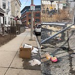 Residential Trash out Illegally at 274 E Cottage St, 1, Dorchester