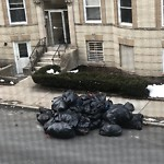 Residential Trash out Illegally at 17 Saint Lukes Rd, Allston