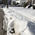 Sidewalk Not Shoveled at 63 Oriole St, West Roxbury