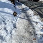 Sidewalk Not Shoveled at 1777 Commonwealth Ave, 1, Brighton