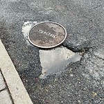 Pothole at 5 Cross St, Charlestown
