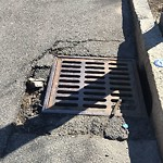Pothole at Intersection Of Fletcher St & South St, Roslindale