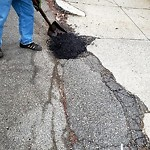 Broken Sidewalk at 288r 288 Princeton St, East Boston
