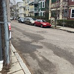 Illegal Parking at Intersection Of Juliette St & Linden St, Dorchester