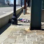 Litter at Intersection Of Cambridge St & Charles St