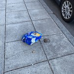 Litter at Intersection Of Page's Ct & W Broadway, South Boston