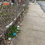 Litter at Intersection Of Freeman St & Charles St, Dorchester