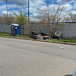 Residential Trash out Illegally at 242 Harrison Ave, Apt B201