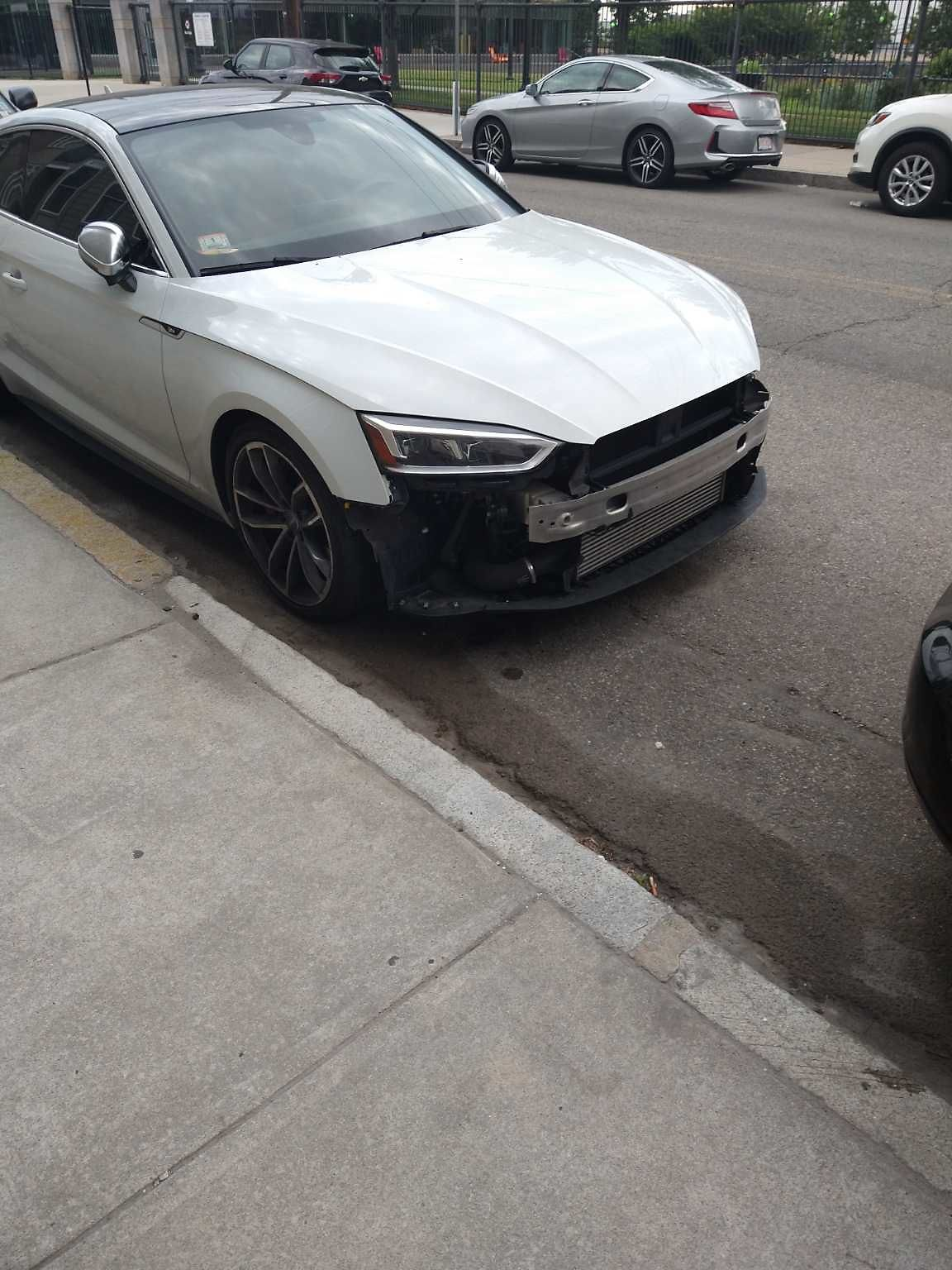 One of many cars from Logan Automotive on street