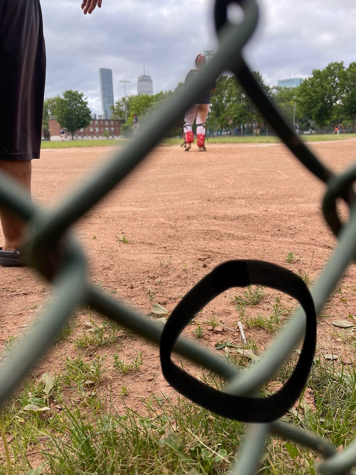 It's so terrible to watch my son's baseball game with needles on the field. Today there was ONLY one. It has been removed but PLEASE HELP us and clean up Jim Rice. It's a city park! The kids need you and a better and safer place to play!…