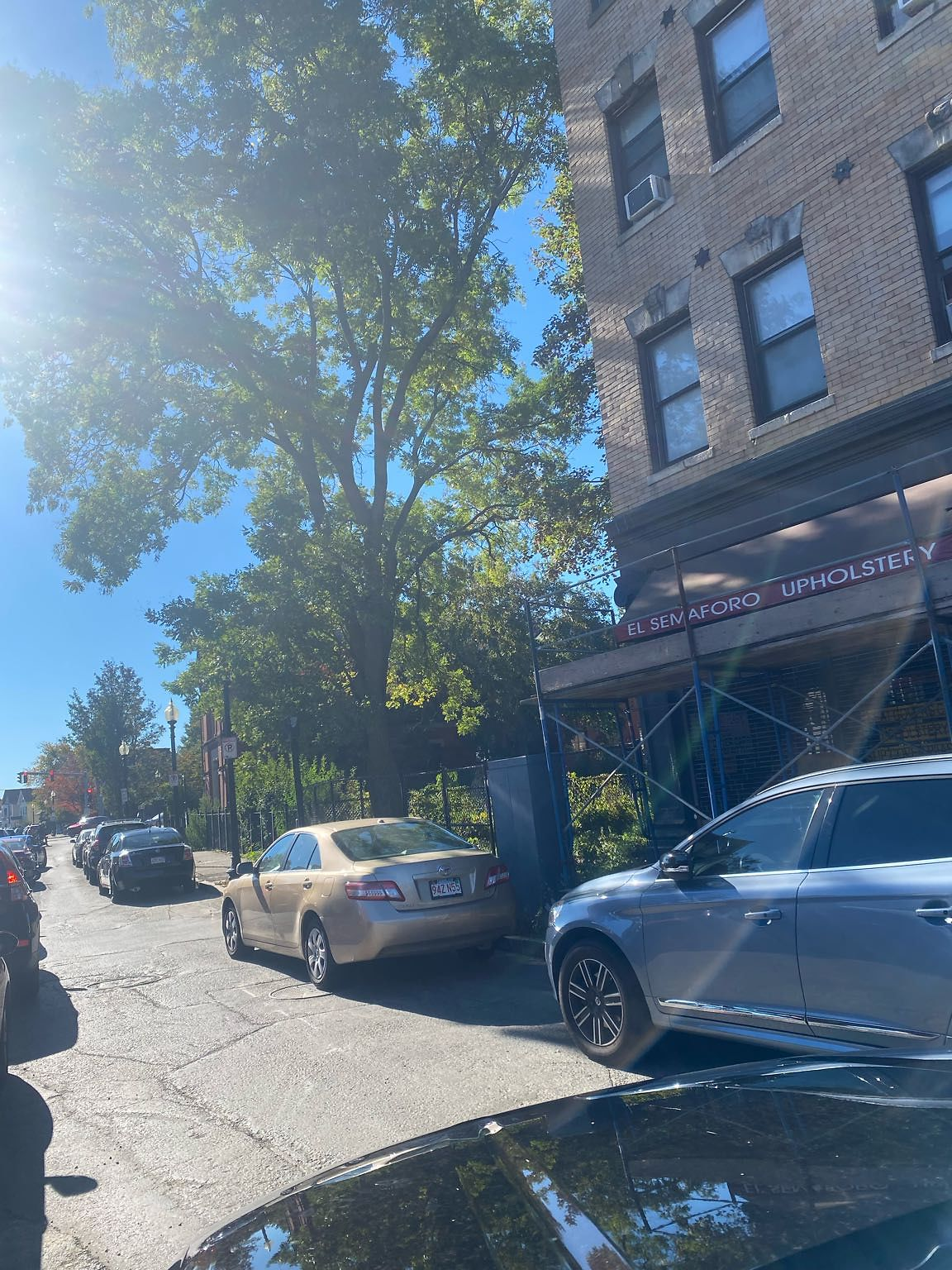Every weekend, especially Sundays all day cars are parked illegally on both side on the street, including the intersection. Many of the cars are church goers, but some of them are just random illegally parked car. Both sides of the street have clearly…