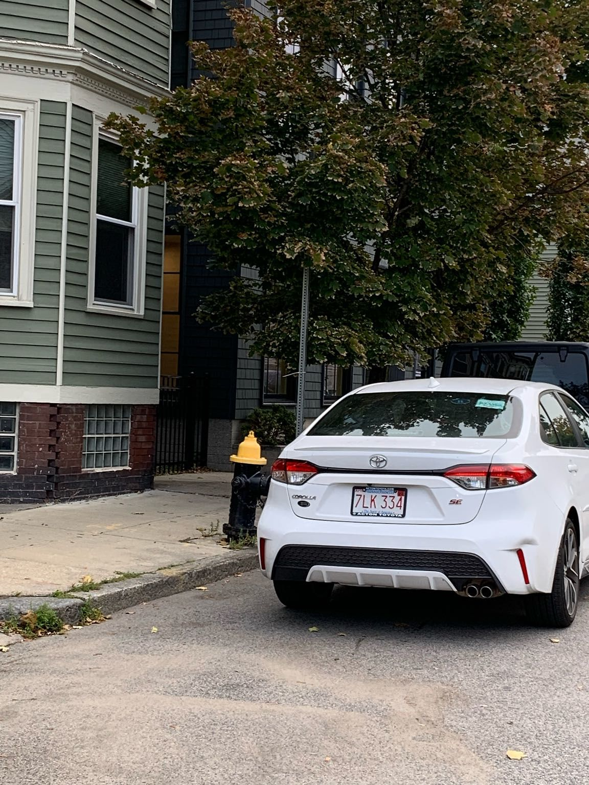 Just a heads up - this car is still here in front of the hydrant - that's 5 out of 6 days. No repercussions means no one cares. Tow this car.
